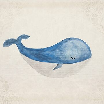 Sleepy Whale by melbournedesign