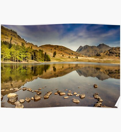 Reflections Blea Tarn Poster