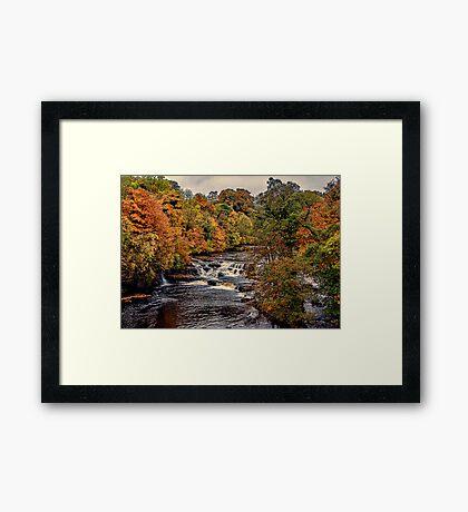 Aysgarth Falls Yorks Dales Framed Print