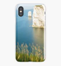Morning light at Old Harry Rocks iPhone Case/Skin