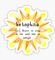 heliophilia Sticker