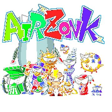 Air Zonk (TG16) Title Screen  by AvalancheShirts