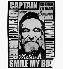 Robin williams tribute  Poster