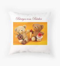 Bäriges vom Bäcker  Throw Pillow