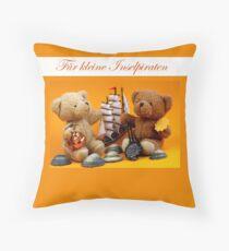 Für kleine Inselpiraten Throw Pillow