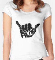 Shaka Aloha - Hawaii Women's Fitted Scoop T-Shirt