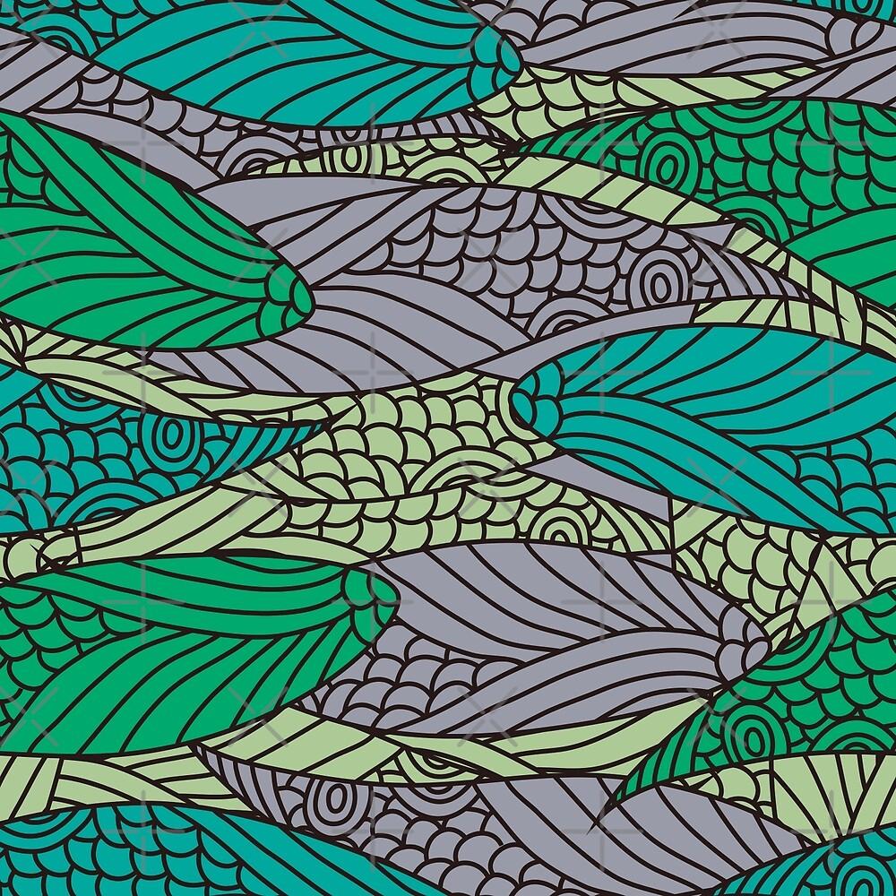 Abstract Pattern by Olga Altunina
