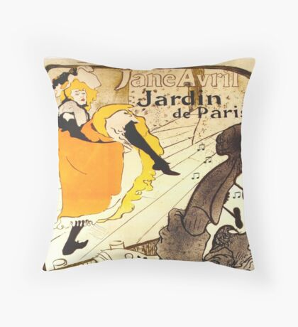 CAN CAN Throw Pillow