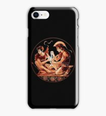 Achilles & Patroclus Red Figure iPhone Case/Skin