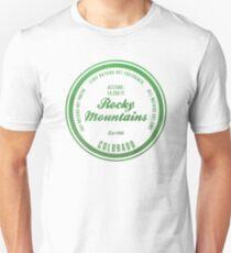 Rocky Mountains National Park, Colorado Slim Fit T-Shirt