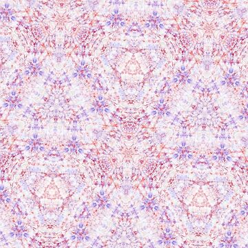 Purple Kaleidoscope Pattern by whatemma