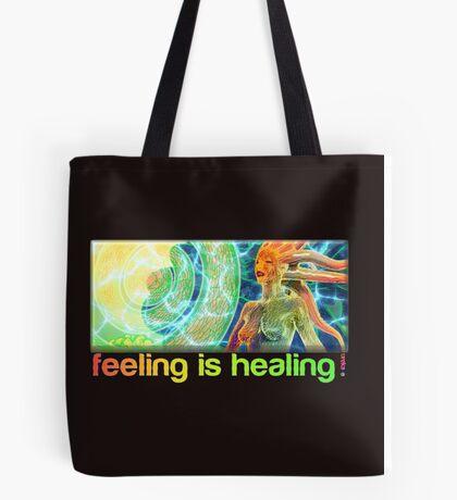 feeling is healing! (ureka.org) Tote Bag