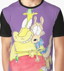 Rocko, Heffer and Spunky Graphic T-Shirt