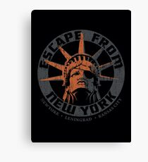 Escape from New York Snake Plissken Canvas Print