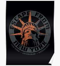 Escape from New York Snake Plissken Poster
