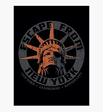 Escape from New York Snake Plissken Photographic Print