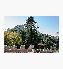 Castle of the Moors in Sintra, Portugal Photographic Print
