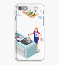 Food Recipes Delivery Concept iPhone Case/Skin