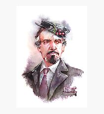 Delgado!Master and Missy's hat Photographic Print