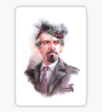Delgado!Master and Missy's hat Sticker