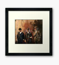 Shelby Brothers Framed Print