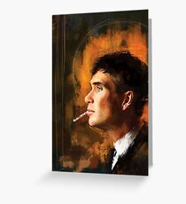 Tommy Shelby Greeting Card