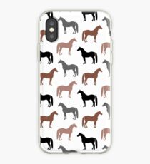 Horse Pattern iPhone Case