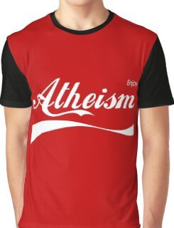 Enjoy Atheism Graphic T-Shirt