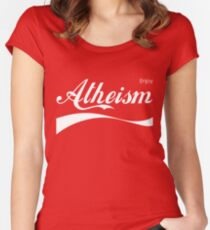 Enjoy Atheism Women's Fitted Scoop T-Shirt