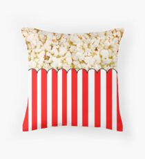 Movie Night Throw Pillow