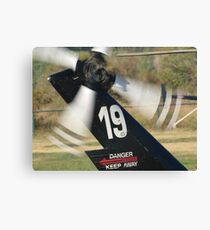 N190LA tail rotor Canvas Print