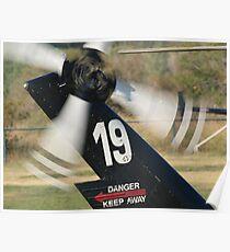 N190LA tail rotor Poster