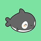 Cute killer whale by peppermintpopuk