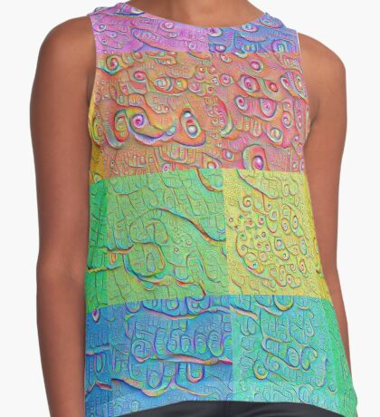 Deep Dreaming of a Color World Contrast Tank