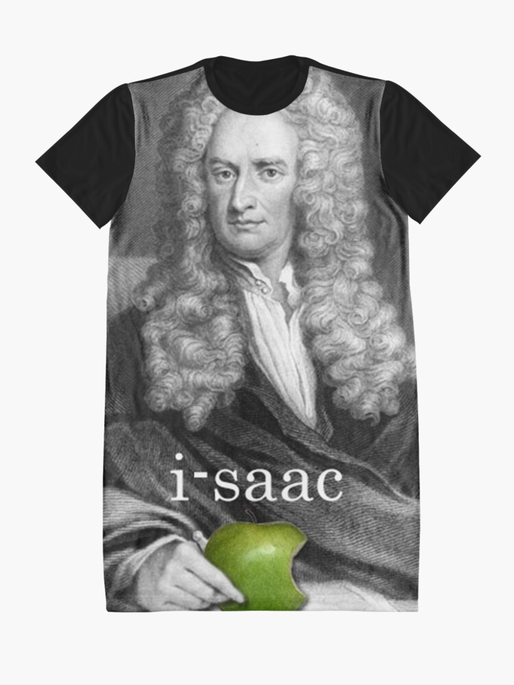 Vista alternativa de Vestido camiseta i-saac Newton