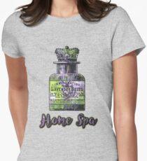 Lavender Bath Salts Old Book Page Vintage Illustration T-Shirt