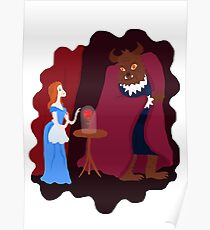 Beauty and beast Poster