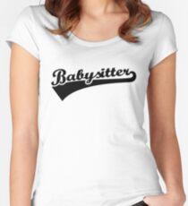 Babysitter Women's Fitted Scoop T-Shirt
