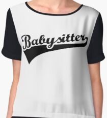 Babysitter Chiffon Top