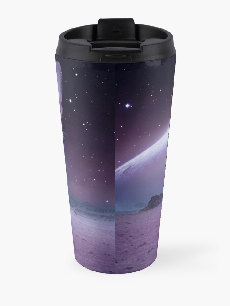 Alternate view of Planet Of The Cats Travel Mug