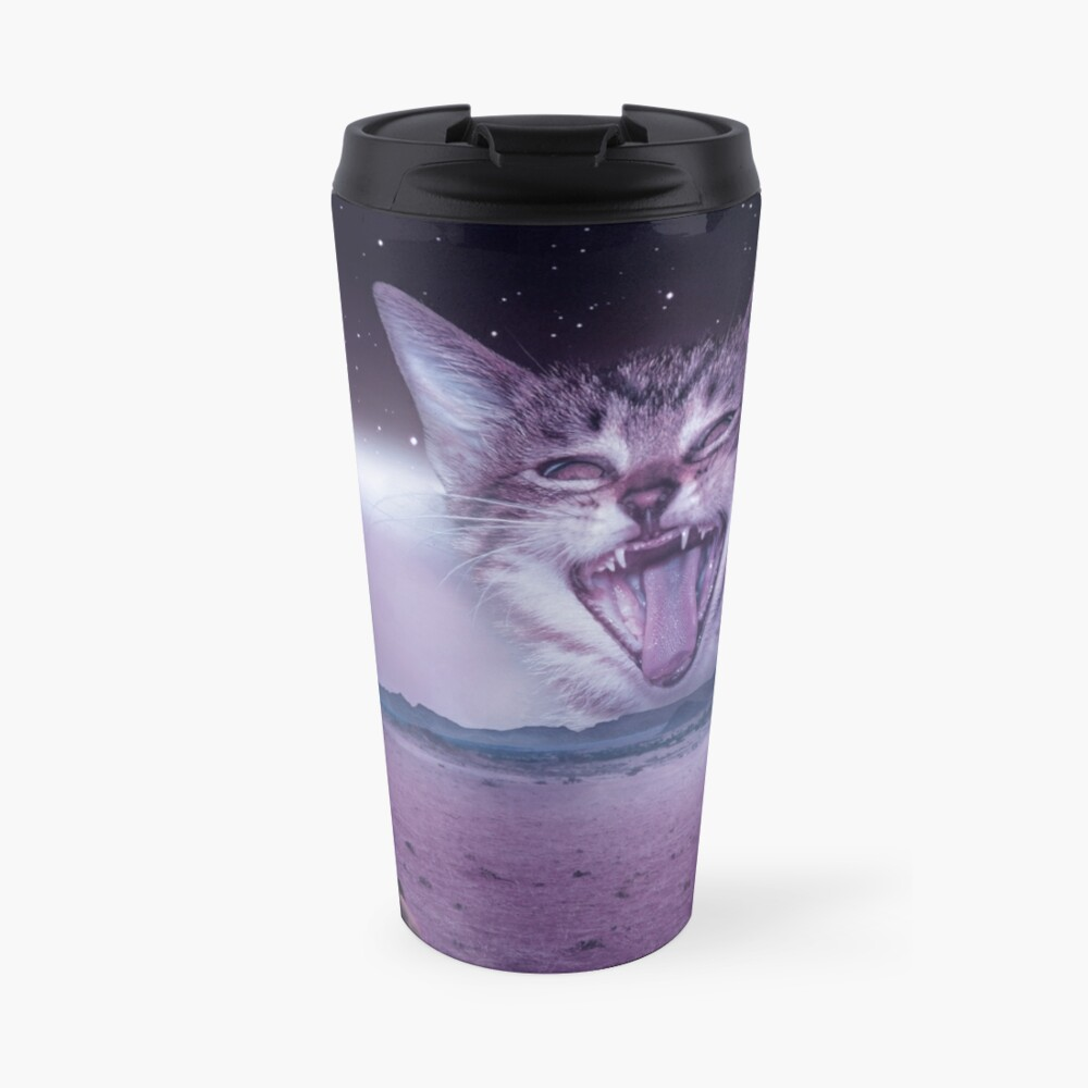 Planet Of The Cats Travel Mug