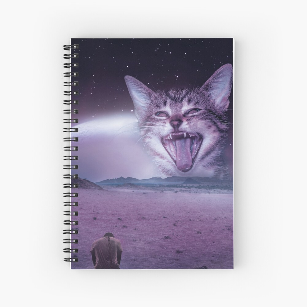 Planet Of The Cats Spiral Notebook