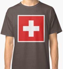 Swiss Flag Classic T-Shirt