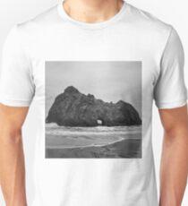 Pfeiffer Beach II BW Unisex T-Shirt