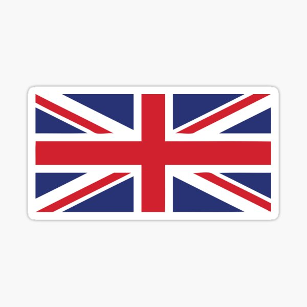 GB European Union Flag EU UK British England Car Decal Sticker