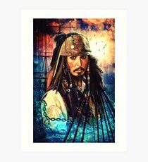 He's A Pirate Art Print