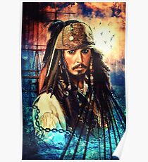 He's A Pirate Poster