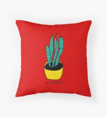 Succulent 01 Throw Pillow