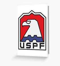 USPF - ESCAPE FROM NEW YORK Greeting Card