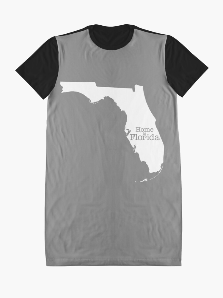 Alternate view of Home is Florida Graphic T-Shirt Dress